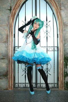 初音ミク   Aza Miyuko - WorldCosplay
