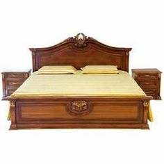 Brown Designer Wooden Bed, Rs 35000 /piece Wood On Furniture Box Bed Design, Bedroom Bed Design, Bedroom Furniture, Furniture Design, Wooden Furniture, Office Furniture, Apartment Furniture, Furniture Stores, Kitchen Furniture
