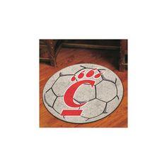 FANMATS NCAA University of Cincinnati Soccer Ball