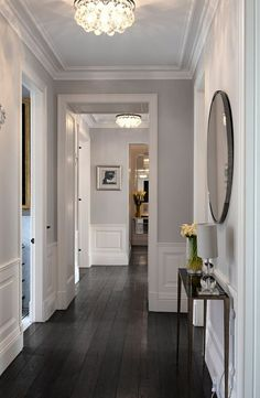 I adore a beautiful hallway
