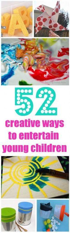 See Jamie Teach Homeschool: 52 Creative Ideas to Entertain Young Kids