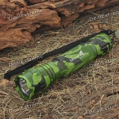 UltraFire WF-501B 1-Mode 510-Lumen LED Flashlight w/ Cree XM-LT6 - Camouflage Green (1 x 18650). Note: We are currently unable to ship to addresses in HongKong, mainland of China.. Tags: #Lights #Lighting #Flashlights #LED #Flashlights #18650 #Flashlights