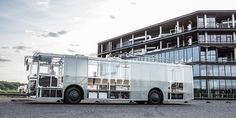 dancer bus: an electric city trolley that uses composite materials