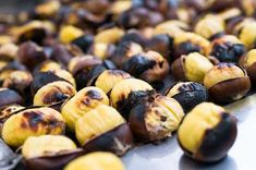 Cooking chestnuts is not difficult. You don't have to roast them. You just boil or, easier, microwave them. Microwave Recipes, Cooking Recipes, Macedonian Food, Roasted Chestnuts, Local Festivals, Micro Onde, Fabulous Foods, Dessert Recipes, Appetizers
