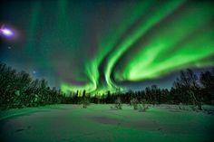 love to look at the Northern Lights! 27.2.2012 Kuusamo, Finland