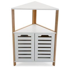 You'll love the 53.5cm W x 80.5cm H Corner Freestanding Cabinet at Wayfair.co.uk - Great Deals on all Storage & Housekeeping  products with Free Shipping on most stuff, even the big stuff.