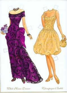 Fashion Weekly Awards Paper Dolls