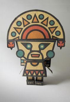 Las Aventuras de Tumi El Tumi es un cuchillo ceremonial usado en el antiguo Perú, originario de la cultura Lambayeque.  El mango es de forma rectangular o trapesoidal.  Del lado no cortante se encuentra una figura del Dios Naymlap.  Su longitud excede ...