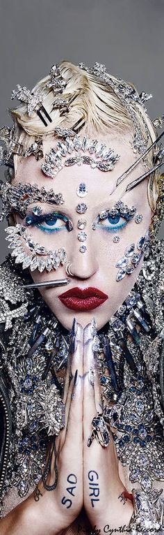 Brooke Candy for Paper Magazine   by Richard Burbridge   Styled by Nicola Formichetti   cynthia reccord