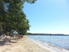 Westcott Beach State Park is a popular day-use and camping park on Lake Ontario, with rolling, wooded hills and open, grassy meadows sheltered by Henderson Bay.