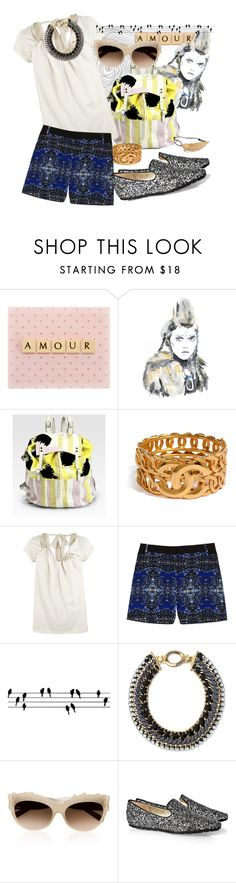 """""""Untitled #546"""" by lia612 ❤ liked on Polyvore featuring Retrò, WALL, Diane Von Furstenberg, Chanel, AllSaints, A.L.C., ferm LIVING, Stella & Dot, Marni and Jimmy Choo"""