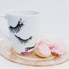 Wakeup With Makeup  Coffee Mug  My Dream by MyDreamBoutique