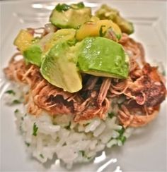 pot jerk pulled pork with caribbean salsa crock pot jerk pulled pork ...