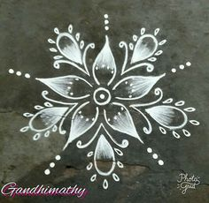 Rangoli Border Designs, Small Rangoli Design, Rangoli Borders, Beautiful Rangoli Designs, Kolam Designs, Diwali Rangoli, Indian Rangoli, Rangoli With Dots, Simple Rangoli