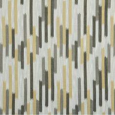 DwellStudio Ikat Blocks Fabric - Citrine
