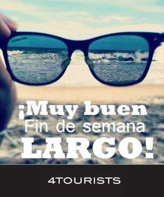 Buen fin de semana largo! #4tourists www.4tourists.com.ar