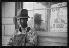 Farm laborer. Stem, NC, 1940. Library of Congress.