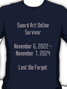 Sword Art Online Survivor T-Shirt