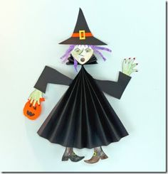 halloween craft witch