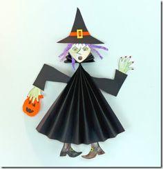 halloween craft witch