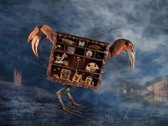 Paul Biddle - The Cabinet of Curiosities Count Muldivos Travelling Cabinet