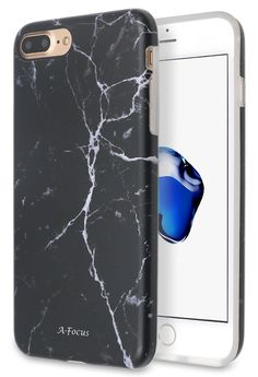 There's just something classy about a black marble case that makes your iPhone 7 stand out among the rest.