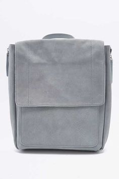 Suede Square Backpack