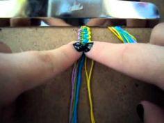 The knitted bracelet Friendship Bracelet Tutorial - BraceletBook.com