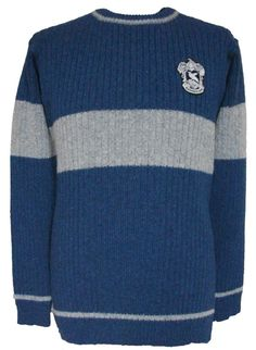 OFFICIAL WARNER BROS. HARRY POTTER RAVENCLAW QUIDDITCH SWEATER. WANT X1000