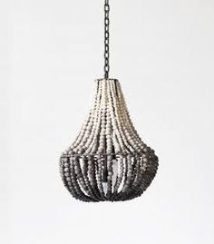 Image Result For Wooden Bead Chandelier Nz