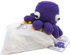 Crochet Octopus Kit // DIY Craft Kit // All by JustAddCrochet