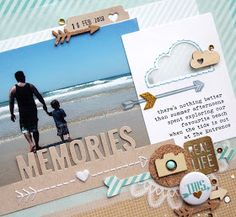 #papercraft #Scrapbook #layout. a place in my dreams: {scrAp this!} with sketches...