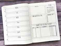 minimalist weekly spread - All About Bullet Journal Savings Tracker, Bullet Journal 2019, Bullet Journal Hacks, Bullet Journal Ideas Pages, Bullet Journal Spread, Bullet Journal Layout, Journal Prompts, Bullet Journal Inspiration, Book Journal