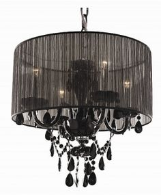 fixtures like Shade's of Light's Urban Shade Chandelier ...
