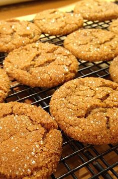 "Triple the Ginger Cookies | ""I have made this recipe twice in the last week. Wow! These cookies are good!"" #cookies #cookierecipes #bakingrecipes #dessertrecipes #cookieideas"