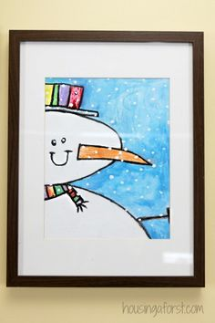 Close-up Snowman Art Project for Kids ~Winter Art Projects for Kids There is something about snowmen that just make me want to smile. We have created so many snowman crafts and activities just because of my love of them. Traditionally, … Continue reading →
