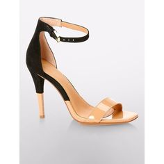 Shanti Patent  Suede Sandal ($119) ❤ liked on Polyvore featuring shoes, sandals, calvin klein sandals, calvin klein shoes, suede shoes, strappy sandals and suede leather shoes