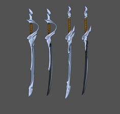 Yasuo - Champions - Universe of League of Legends Robot Concept Art, Weapon Concept Art, Armor Concept, Fantasy Sword, Fantasy Armor, Fantasy Weapons, Katana, Ninja Weapons, Anime Weapons