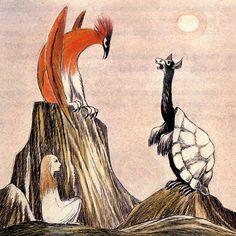 Alice in Wonderland by Tove Jansson. #illustration #art #forkids