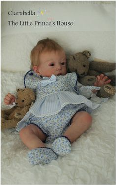 Adelya by Olga Auer - Online Store - City of Reborn Angels Supplier of Reborn Doll Kits and Supplies