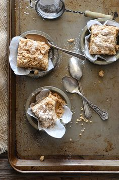 New York-Style Crumb Cake Recipe With Pumpkin