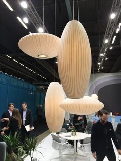 Herman Miller Nelson lamps at the #SFF2017