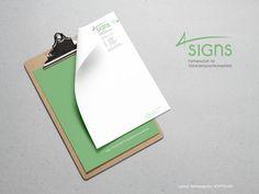 letterhead design :: logo design :: Design by Werbeagentur KOPFNUSS Zwickau