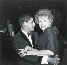 Jerry Lewis and Lucille Ball - Loved watching these two as a young child.