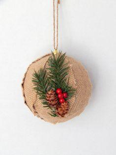Rustic Christmas Ornament  Christmas Tree by MakingLifeMemorable