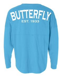 Are you completely in love with the butterfly stroke? Well if you are then you are definitely not alone and this swim jersey is going to show off that love to anyone who sees you. Available in a varie