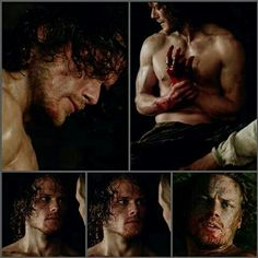 The face of a tortured man. I can't believe Sam didn't win several awards for this portrayal! It was amazing!