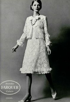 1971 - Chanel lace suit