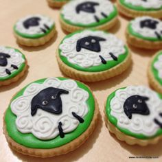 Kurbanlık Kurabiyeler - Funny sheep cookies