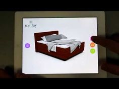 ELARBIS NXTDay bed configurator - YouTube